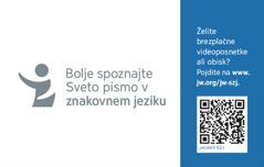 Hrbtna stran vizitke jw.org za znakovni jezik