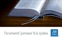 Jun tarjeta b'a jw.org b'a chikan ja Biblia