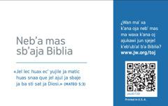 Ja spatik jun tarjeta b'a jw.org