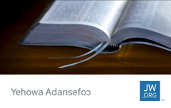JW.ORG wɛbsaet kaad; Bible a wɔabue mu mfonini na ɛwɔ so