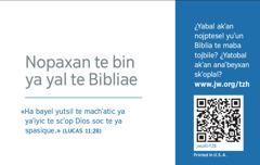 Tespat tarjeta yu'un jw.org