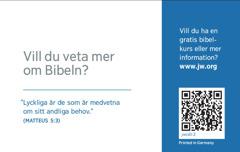 Baksidan på ett visitkort för jw.org