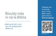 Xiitz toib tarjeta de contacto xtuny jw.org