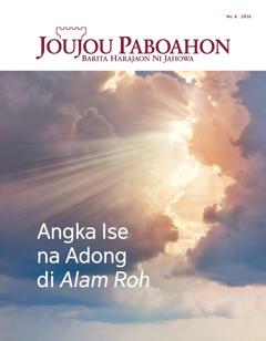 Joujou Paboahon No. 6 2016 | Angka Ise do na Adong di Alam Roh?