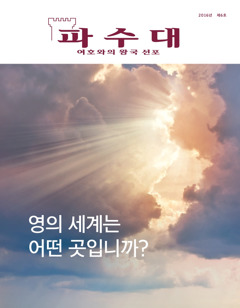 파수대 2016년 제6호 | 영의 세계는 어떤 곳입니까?