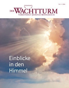 Der Wachtturm Nr. 6 2016 | Einblicke in den Himmel