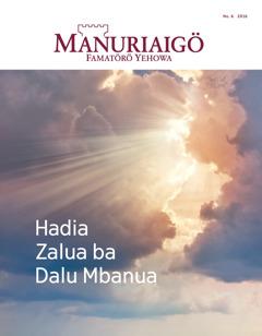 Manuriaigö No. 6 2016 | Hadia Zalua ba Dalu Mbanua