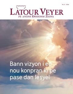 Latour Veyer No.6 2016 | Bann vizyon i ed nou konpran ki pe pase dan lesyel