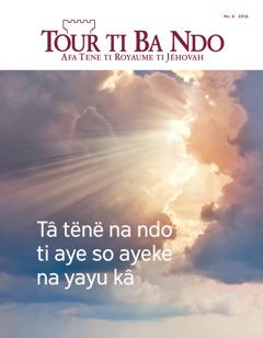 Tour ti Ba Ndo No. 6 2016 | Tâ tënë na ndo ti aye so ayeke na yayu kâ