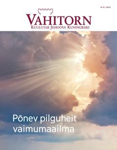Vahitorn nr 6 / 2016 | Põnev pilguheit vaimumaailma