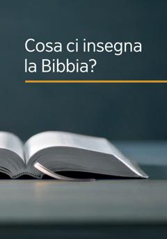 Copertina del libro Cosa ci insegna la Bibbia?