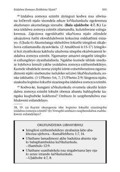 Ikhasi 105 lebhuku elithi IBhayibhili Lifundisani Sibili?
