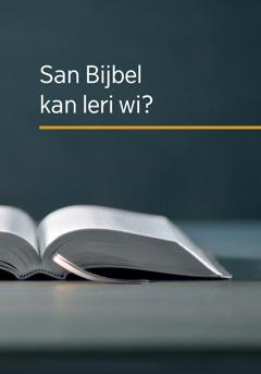 San Bijbel kan leri wi?