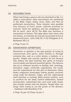 Các chú thích trong sách Kinh Thánh dạy gì?