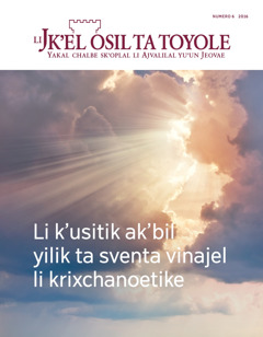 Li Jk'el osil ta toyole numero 6 2016 | Li k'usitik ak'bil yilik ta sventa vinajel li krixchanoetike