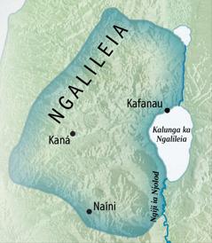Mapa ia Ngalileia