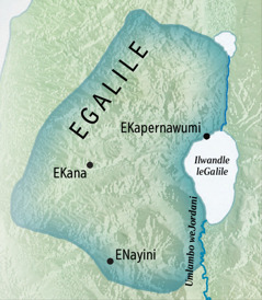 A map of Galilee