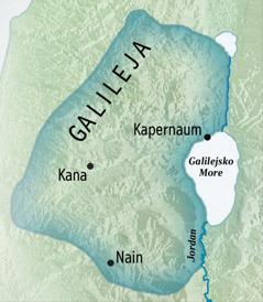 Karta tari Galilea