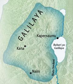 Karte ya Galilaya