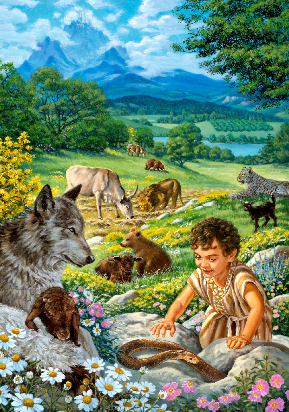 Will there be animals in paradise