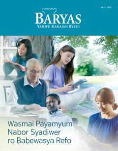 Baryas No. 1 2017 | Wasmai Payamyum Nabor Syadiwer ro Ḇaḇewasya Refo