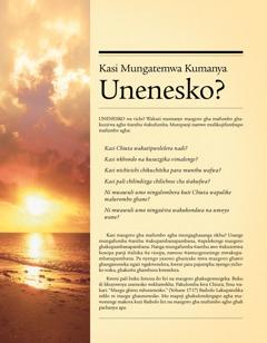 Kasi Mungatemwa Kumanya Unenesko?