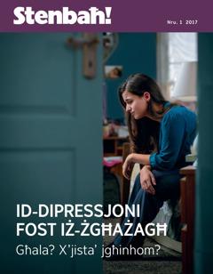 Stenbaħ! Nru. 1 2017   Id-dipressjoni fost iż-żgħażagħ—Għala? X'jista' jgħinhom?