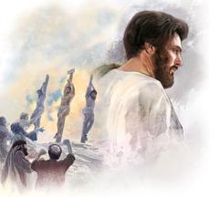 Jezus je odločen ostati zvest, čeprav ve, da bo moral trpeti.