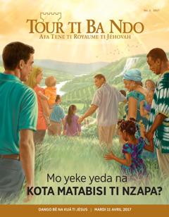 Tour ti Ba Ndo No. 22017 | Mo yeke yeda na kota matabisi ti Nzapa?