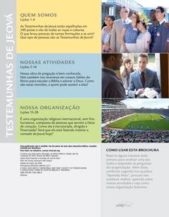Índice da brochura Quem Está Fazendo a Vontade de Jeová Hoje?
