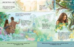 Lekce z brožury Poslouchejte Boha, která je o Adamovi a Evě v zahradě Eden