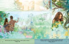 Marlajar humbani buku Tangihon ma Naibata pasal si Adam pakon si Hawa i pohon Eden