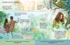 Lektionen om Adam og Eva i Edens Have fra brochuren Lyt til Gud