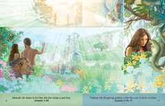 Pathian Bia Ngai timi brochure chung i Eden dum chung i Adam le Eve kong timi ṭhen