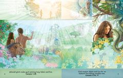 Leson insaed Followim Toktok Bilong God brochure abaotem Adam and Eve long garden long Eden