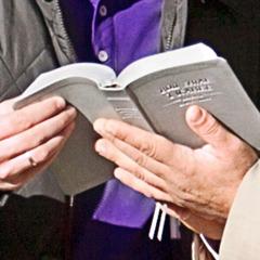 En åben bibel