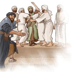 کاهنان، انبیا و تمام قوم، اِرْمیای نبی را دستگیر میکنند