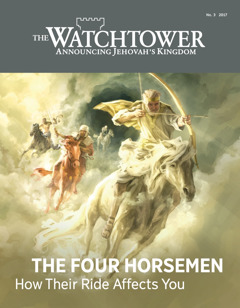 The Watchtower No. 3 2017 | The Four Horsemen​—⁠How Their Ride Affects You