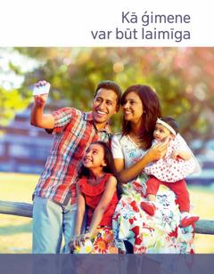 Kā ģimene var būt laimīga