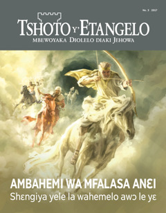 Tshoto y'Etangelo No. 32017   Ambahemi wa mfalasa anɛi—Shɛngiya yele la wahemelo awɔ le yɛ