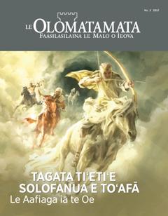 Le Olomatamata Nu. 3 2017 | Tagata Tiʻetiʻe Solofanua e Toʻafā—Le Aafiaga iā te Oe
