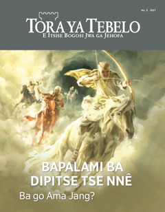 Tora ya Tebelo No.3 2017   Bapalami ba Dipitse Tse Nnê—Ba go Ama Jang?