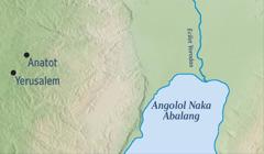 Amaapu naitodunit Yerusalem keda aibosit naelomunitor Yeremia Anatot