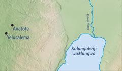 Mapu yakusolola Yelusalema naAnatote kwimbo lyaYelemiya