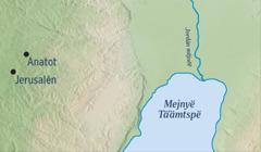 Tuˈugë mapë mä kyëxëˈëgyë Jerusalén etsë Anatot mä Jeremías myaxuˈunkˈäjty