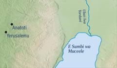 E mapu yino yikulanjizya kuno kwawezile Yerusalemu na ku Anatote kuno e Jeremiya wafumile