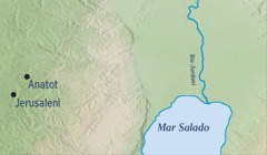 Mapama enga xarhatajka Jerusaleni ka ireta Anatot nani enga Jeremiasi andajpenupka
