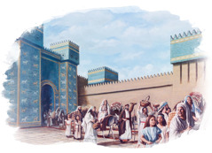 Gli israeliti lasciano Babilonia