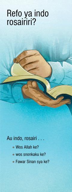 Refo ya Indo Rosairiri? | Refo ya Ryamuma Kaku ro Allah I Ke?