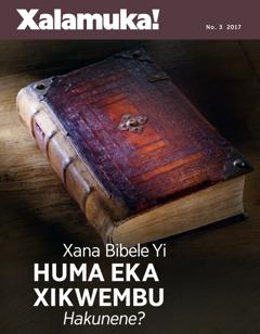 Xalamuka! No. 32017 | Xana Bibele Yi Huma Eka Xikwembu Hakunene?